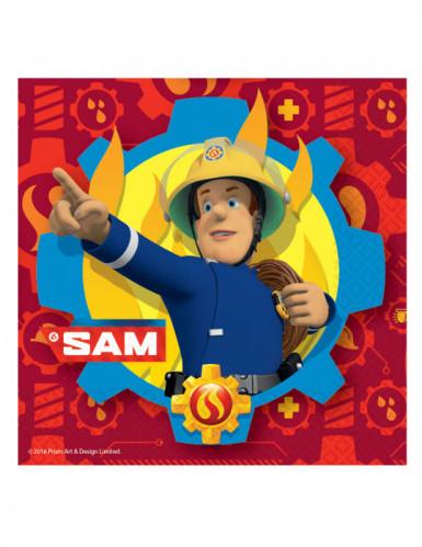 20 Servilletas Sam el Bombero™ papel
