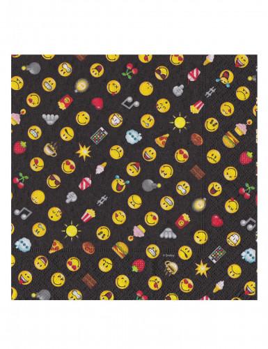 20 Servilletas de papel Smiley Emoticonos™-1