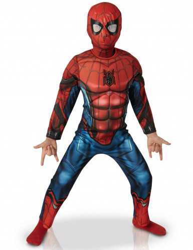Disfraz Spiderman™ Homecoming lujo niño