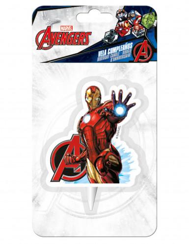 Vela cumpleaños Iron man™ Avengers™-1