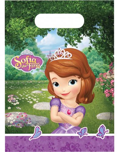 6 Bolsas de regalo Princesa Sofía hace una amiga™
