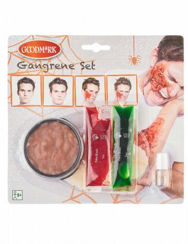 Kit de maquillaje gangrena adulto Halloween