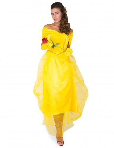 Disfraz de la princesa bella mujer-1