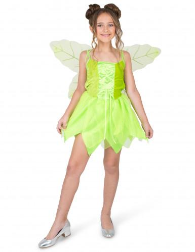 Disfraz de hada del bosque encantada niña