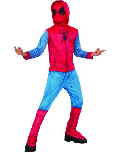 Disfraz Spiderman™ Homecoming con cubre botas niño
