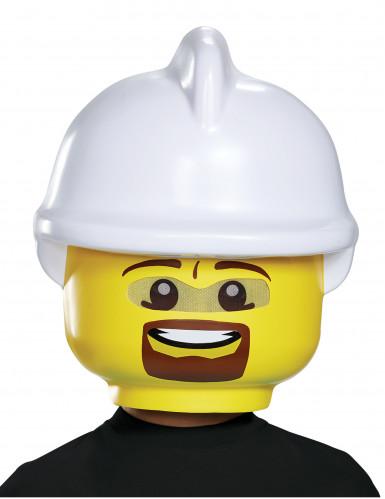 Máscara bombero LEGO® niño