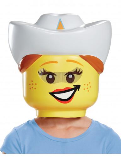 Máscara cowgirl LEGO® niña