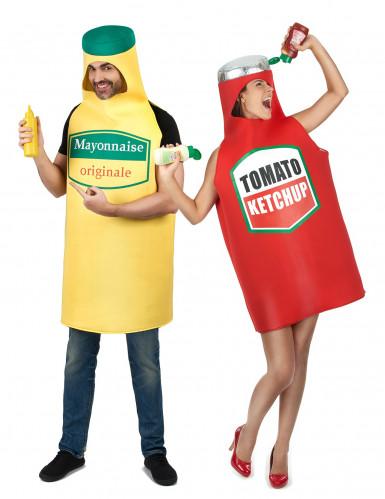 Disfraz de pareja Mayonesa y ketchup