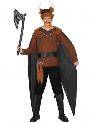 Disfraz de jefe de tribu vikingo hombre