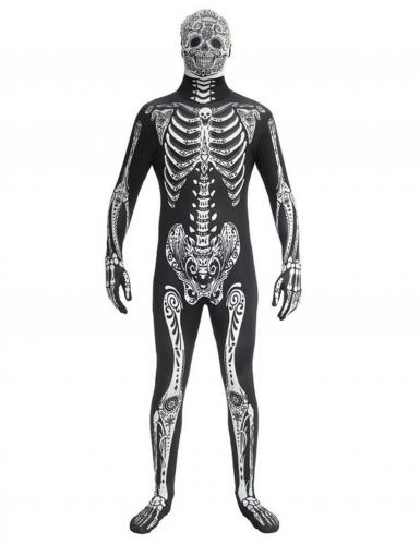 Disfraz esqueleto lover adulto Morphsuits™ Día de los muertos