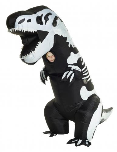 Disfraz hinchable esqueleto T-rex niño Morphsuits™