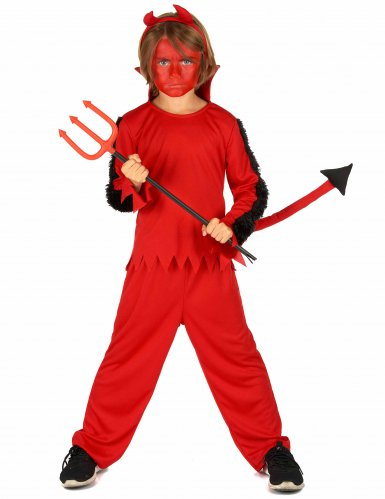 Disfraz de diablo de Halloween para niño
