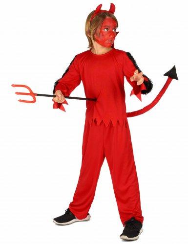 Disfraz de diablo de Halloween para niño-1
