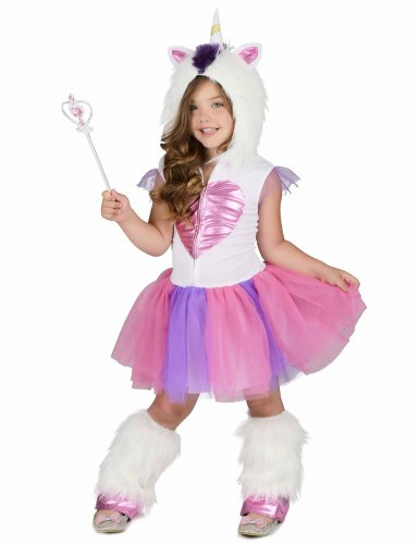 Disfraz princesa unicornio para niña