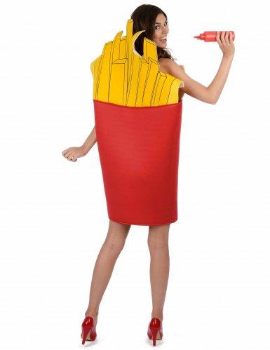 Disfraz caja de patatas fritas para adulto-2