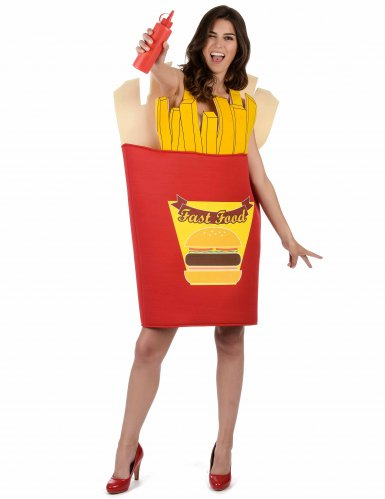 Disfraz caja de patatas fritas para adulto-3