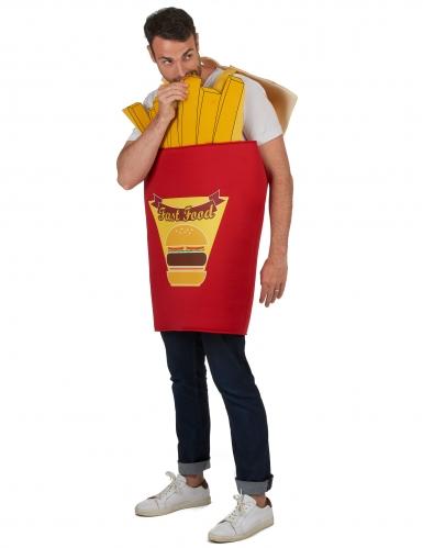 Disfraz caja de patatas fritas para adulto-1
