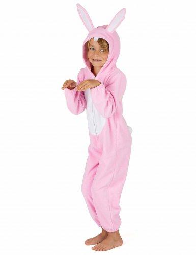 Disfraz conejo rosa niño-3