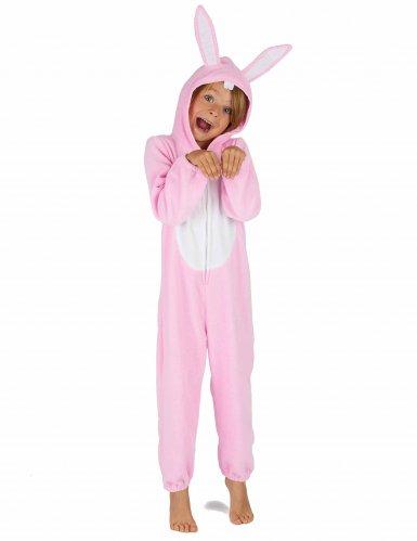 Disfraz conejo rosa niño-5