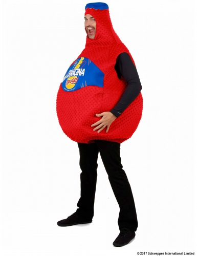 Disfraz botella de Orangina roja™-1