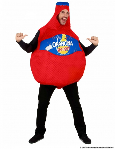 Disfraz botella de Orangina roja™-3