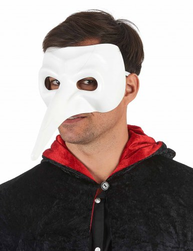 Máscara nariz larga adulto lujo