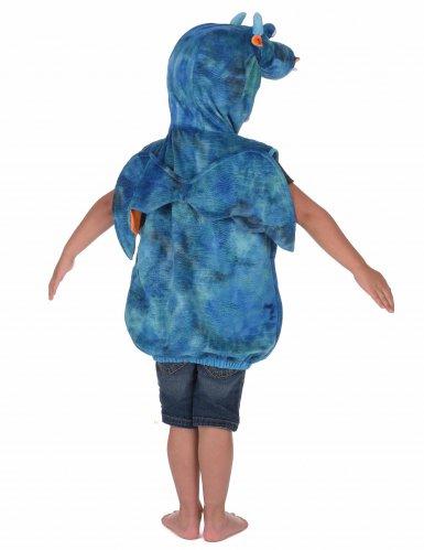 Disfraz dragón azul y naranja niño-2