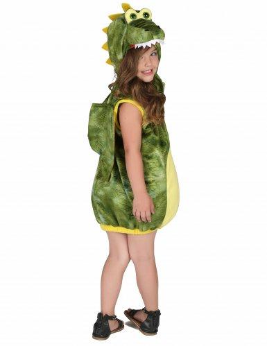 Disfraz de dinosaurio verde niño-2