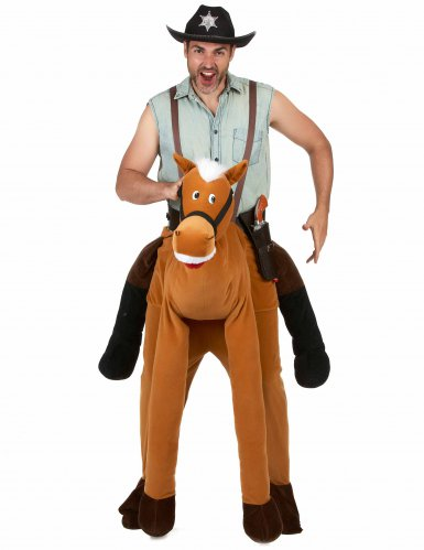 Disfraz hombre con caballo adulto-1