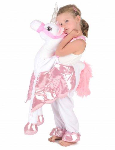 Disfraz con unicornio niño