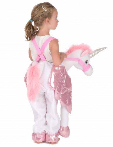 Disfraz con unicornio niño-2
