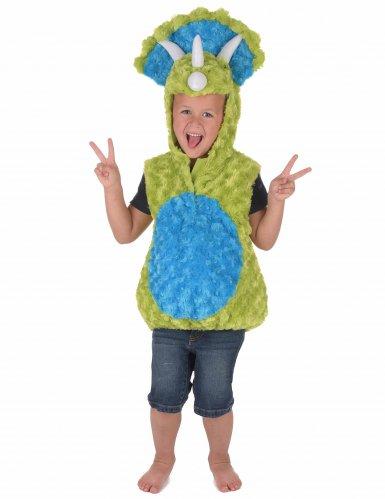 Disfraz dinosaurio verde y azul niño