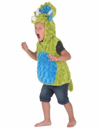 Disfraz dinosaurio verde y azul niño-1