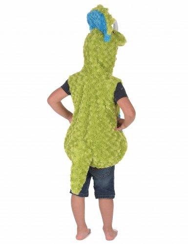 Disfraz dinosaurio verde y azul niño-2