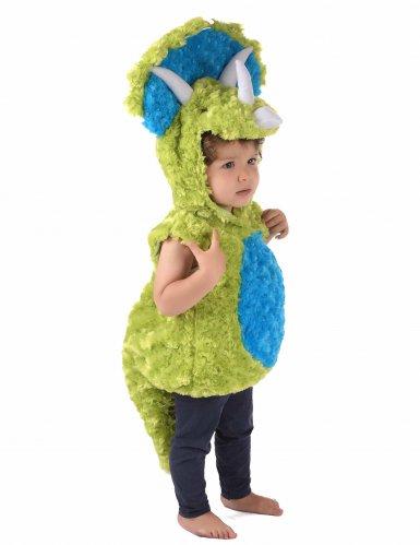 Disfraz dinosaurio verde y azul niño-3