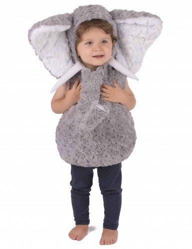 Disfraz elefante gris niño