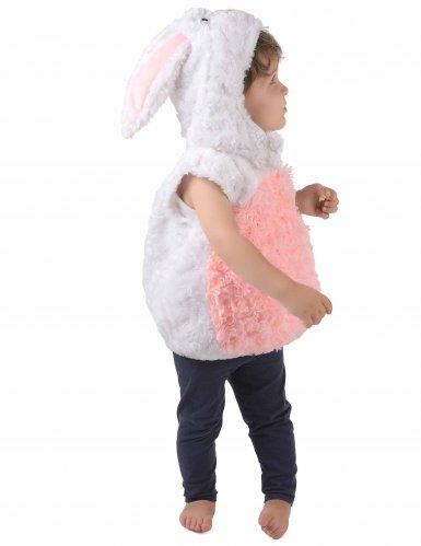 Disfraz conejo blanco y rosa niño-1