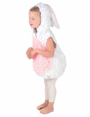 Disfraz conejo blanco y rosa niño-2