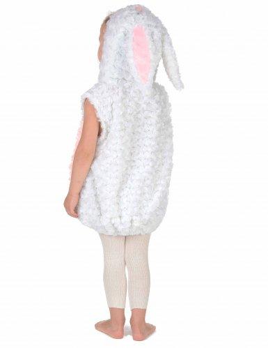 Disfraz conejo blanco y rosa niño-3