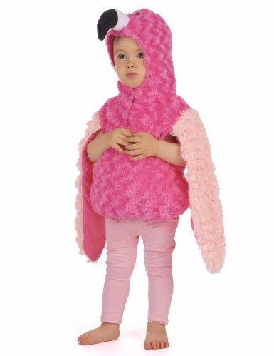Disfraz flamenco rosa niño-1