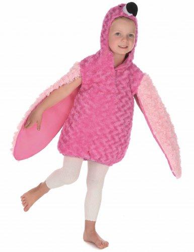 Disfraz flamenco rosa niño-2