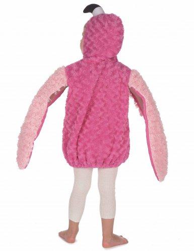 Disfraz flamenco rosa niño-3