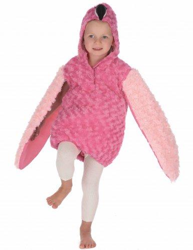 Disfraz flamenco rosa niño-4