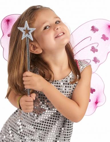 Varita mágica estrella azul adulto y niño-1