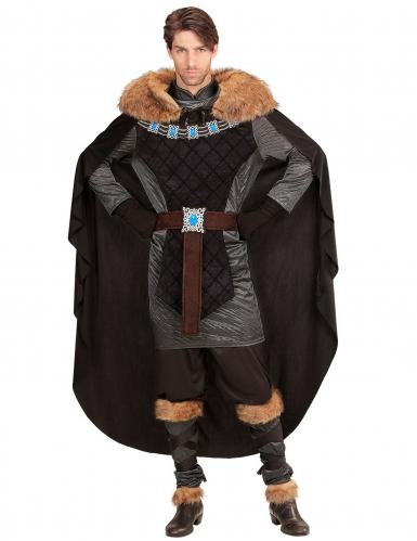 Disfraz príncipe sombrío medieval hombre