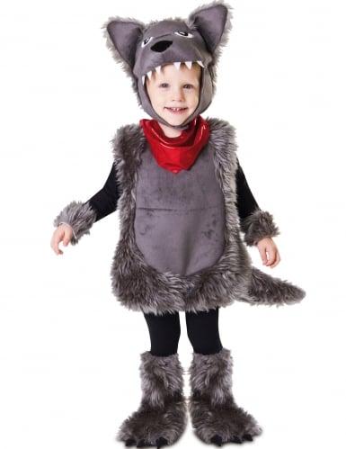 Disfraz de lobo para niño con capucha