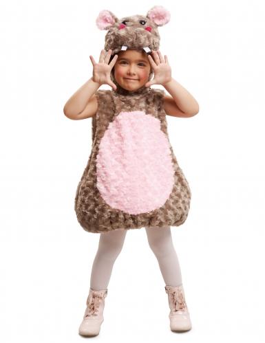 Disfraz hipopótamo niño