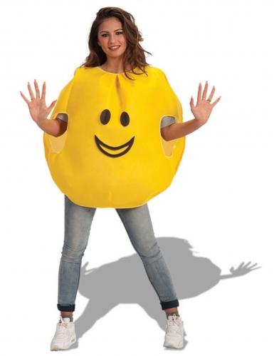 Disfraz emoticono feliz adulto