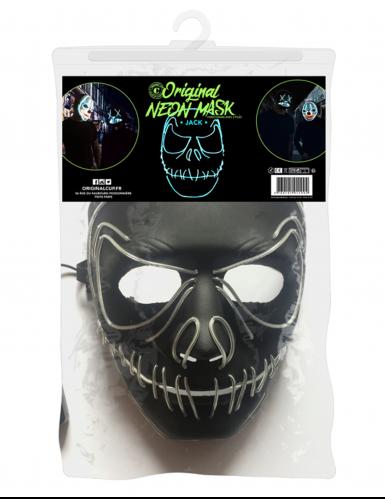 Máscara de neón boca cosida-1
