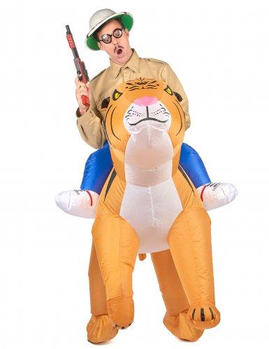 Disfraz tigre inflable adulto-1